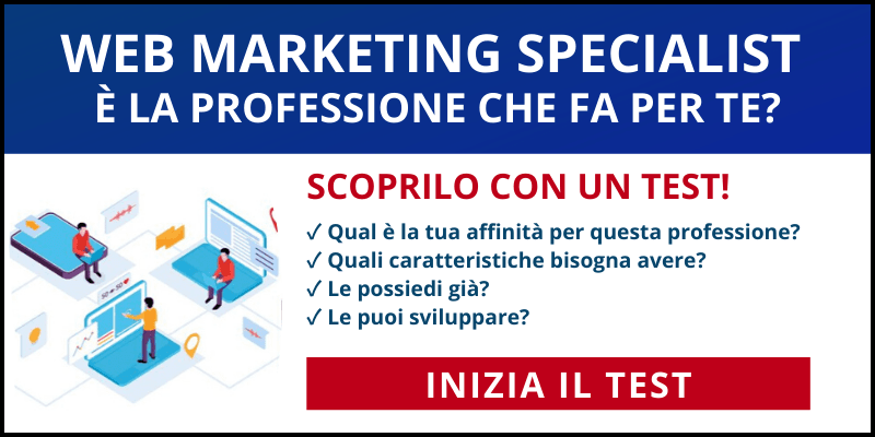 test web marketing assistant specialist