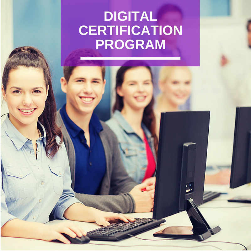 Master Digital Certification Program