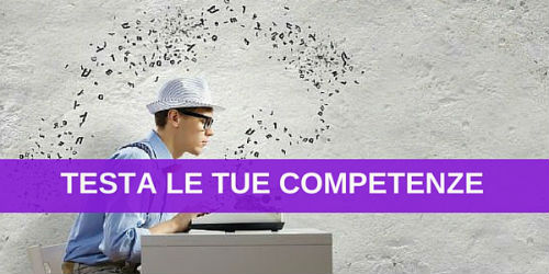 test competenze digital jobs web marketing