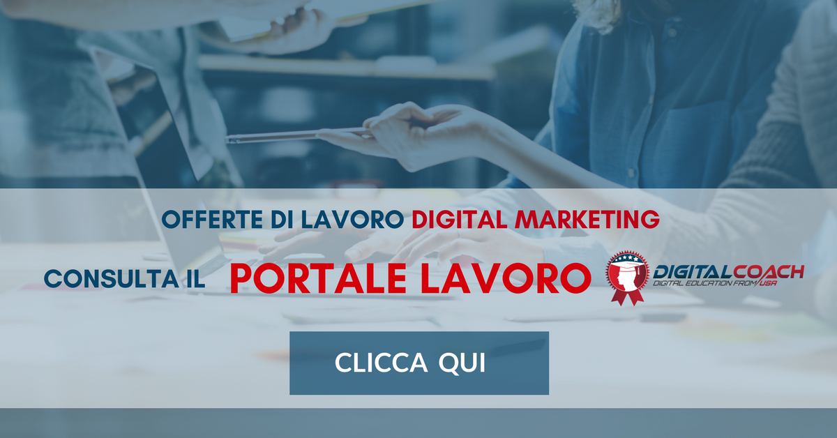 Digital Marketing Manager Offerte Di Lavoro