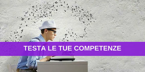 test competenze digital jobs social media marketing