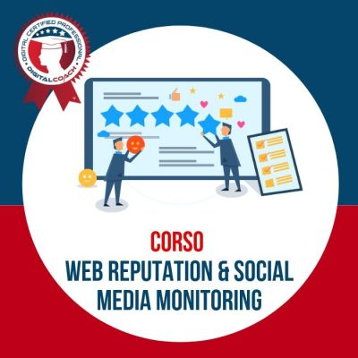 Corso Web Reputation e Social media monitoring cover