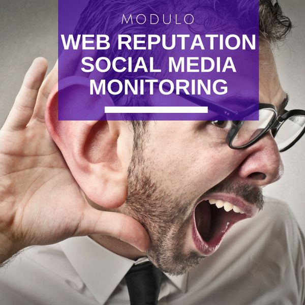 Modulo Web Reputation & Social Media Monitoring