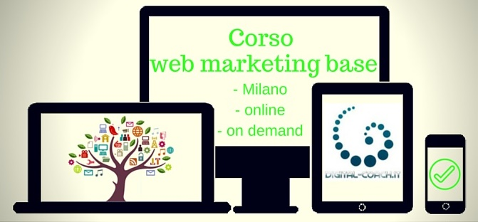 Corso web marketing base