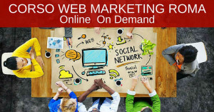 corso web marketing a roma