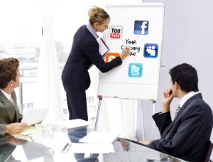 web social media marketing