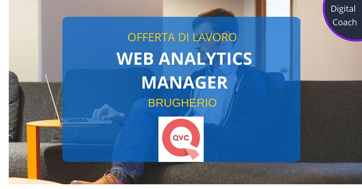 Web-Analytics-Manager-Brugherio-Qvc-Italia