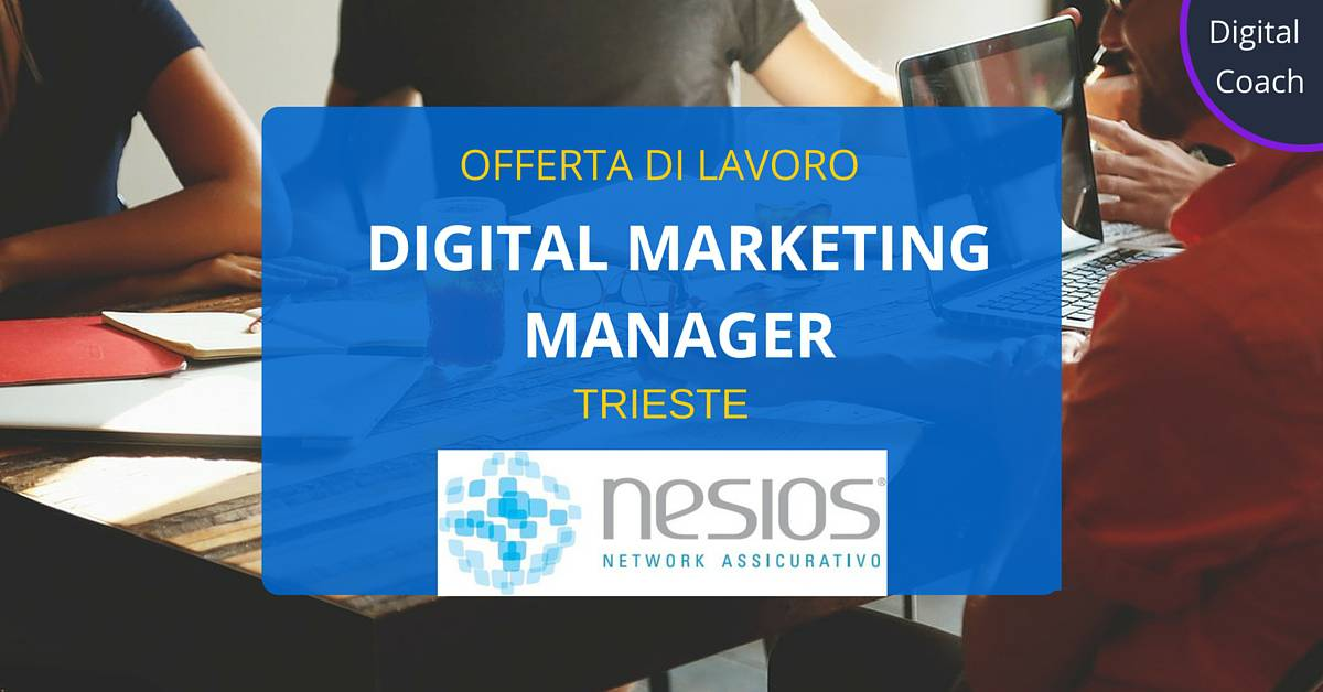 Digital-Marketing-Manager -Trieste -Nesios