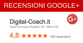 RECENSIONI DIGITAL COACH GOOGLE PLUS