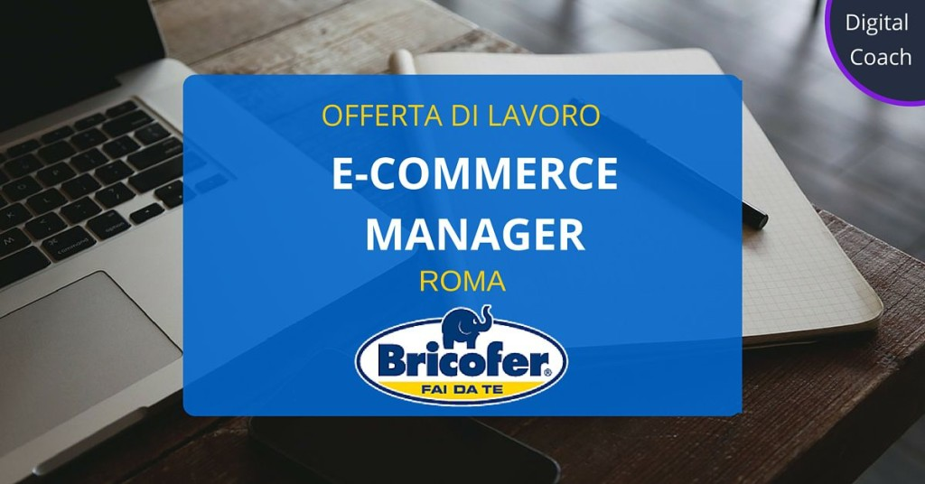 E-commerce-Manager-Roma-Bricofer-Italia