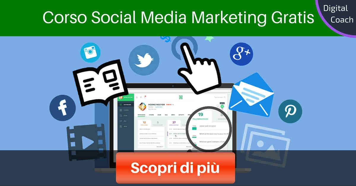 Corso Social Media Marketing Gratis