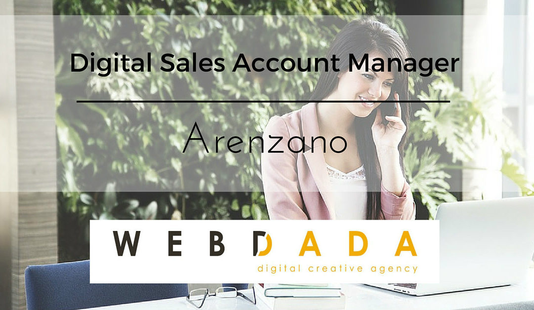Digital Sales Account Manager – Arenzano – webdada