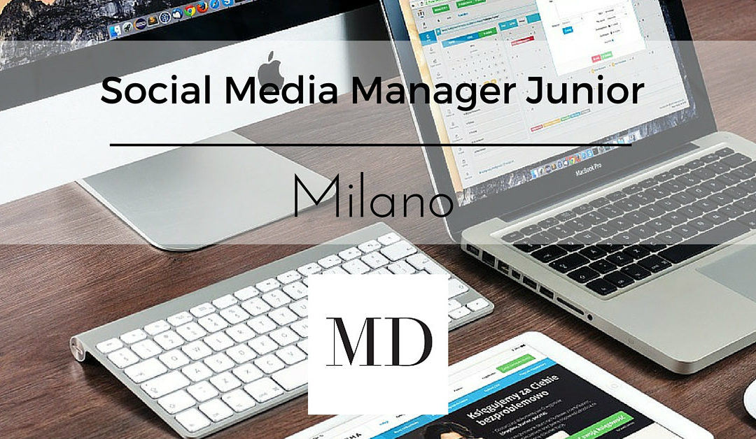 Social Media Manager Junior – Milano – Marco Dell'Omo