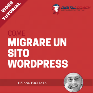come migrare un sito wordpress