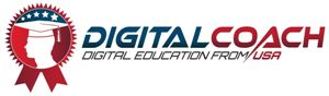 digital coach logo home