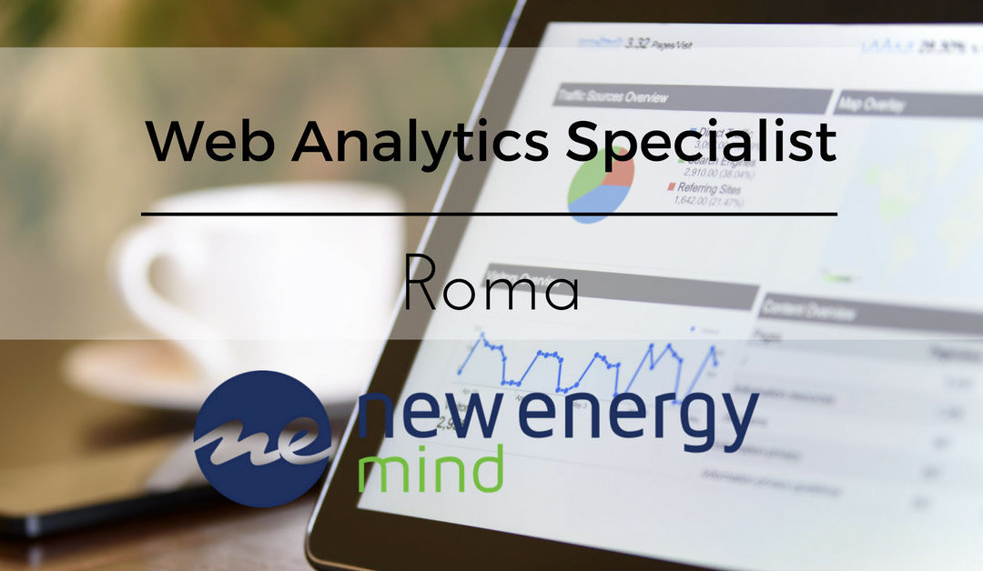 Web Analytics Specialist – Roma – Mind Agency