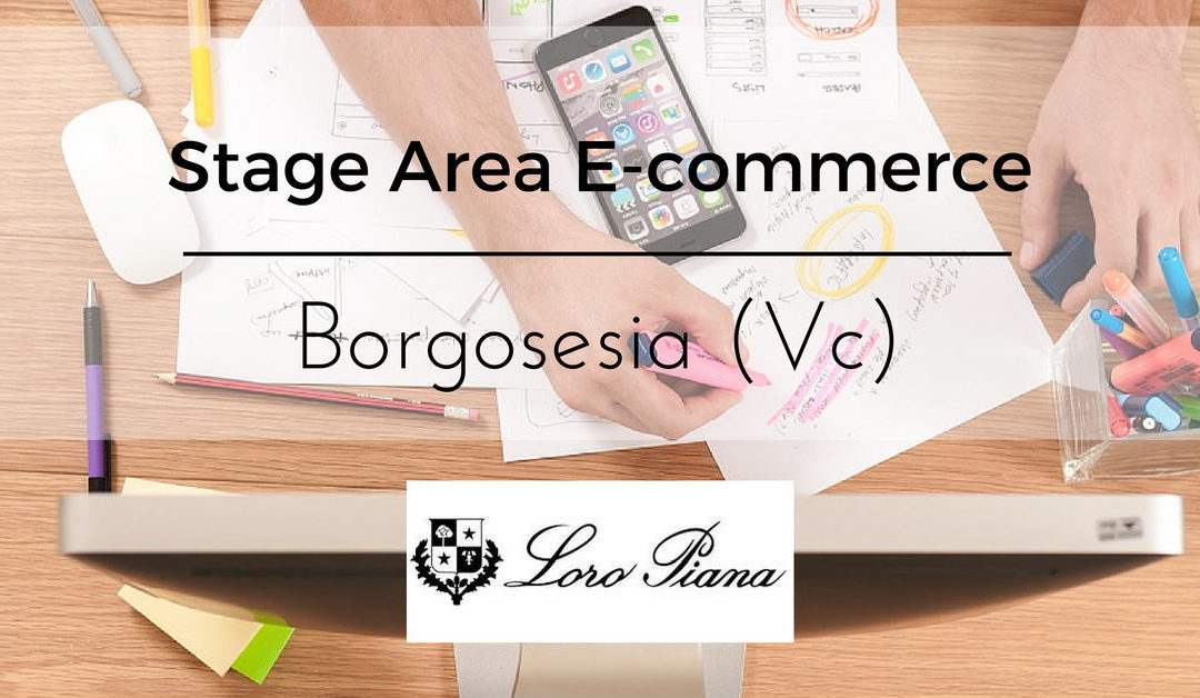 Stage Area E-Commerce – Borgosesia – Loro Piana