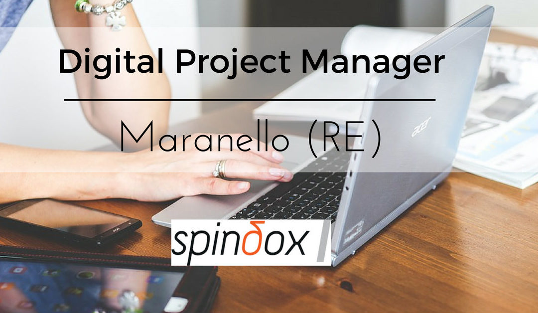 Digital Project Manager – Maranello – Spindox