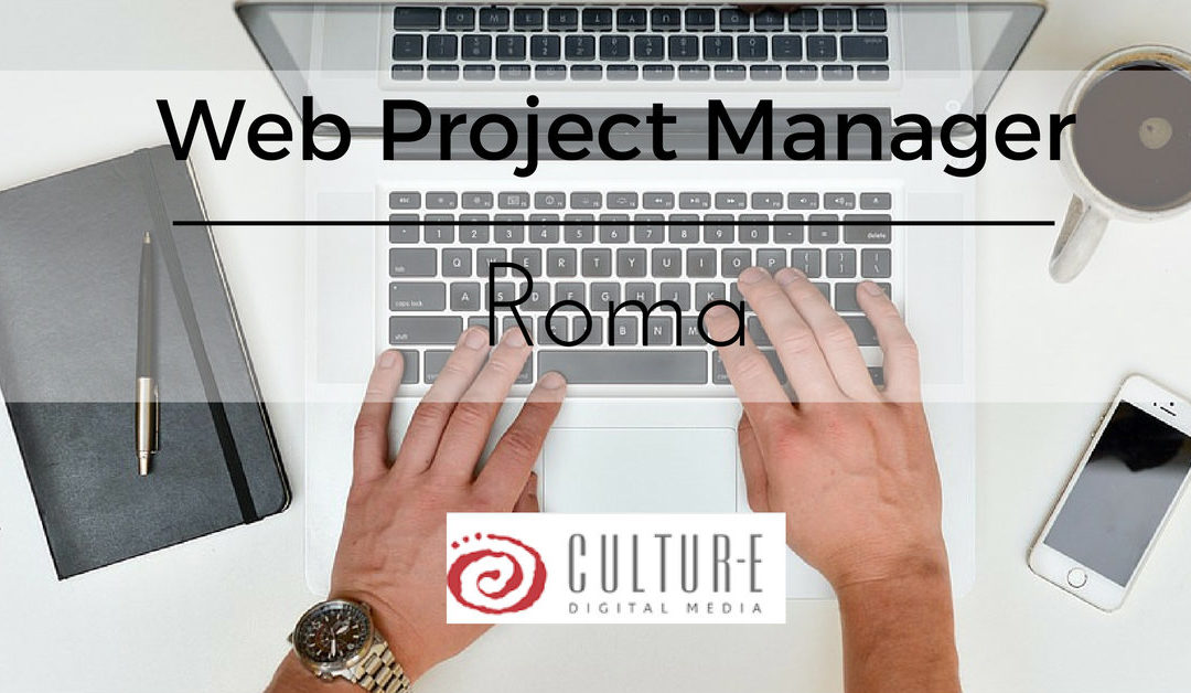 Web Project Manager – Roma – Cultur-e