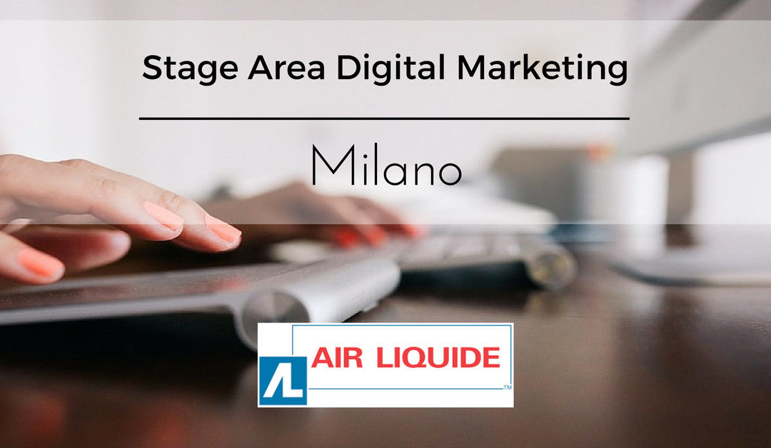 Stage Area Digital Marketing – Milano – Air Liquide