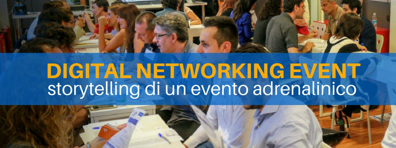 Speed date: storytelling di un evento adrenalinico