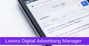 Lavoro Digital Advertising Manager