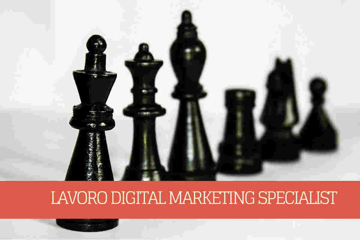 lavoro digital marketing specialist