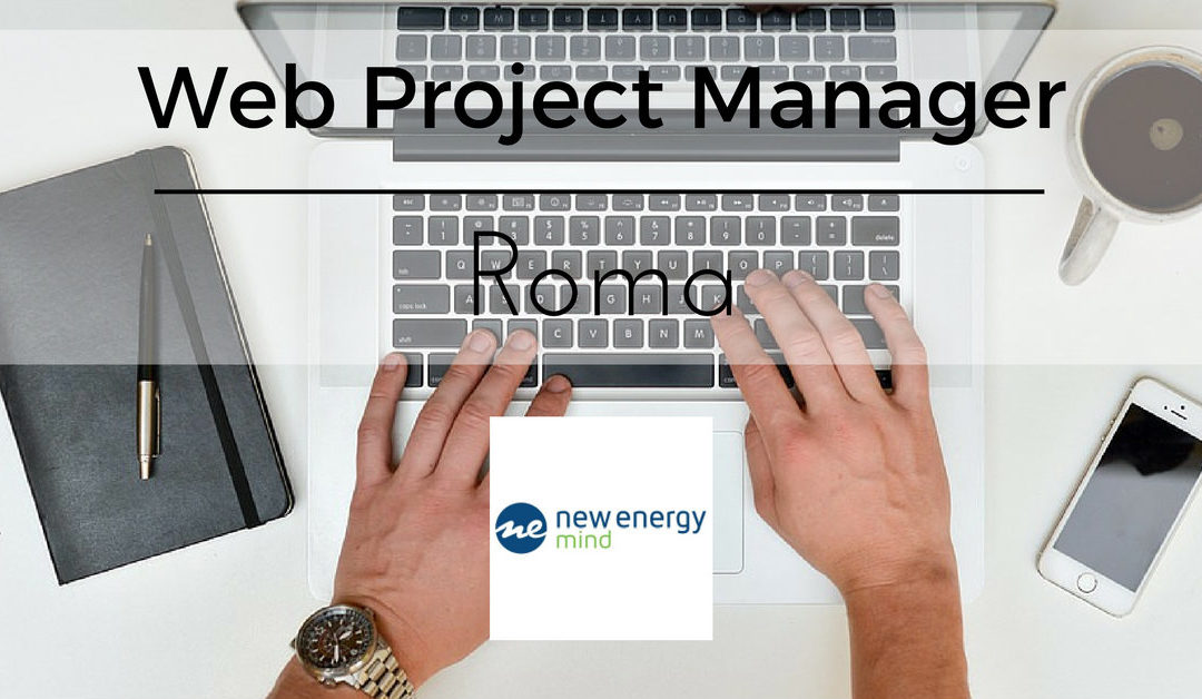 Web Project Manager – Roma – New Energy Group