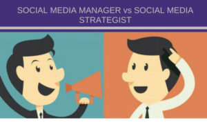 lavoro social media strategist vs manager