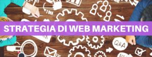 strategia di web marketing