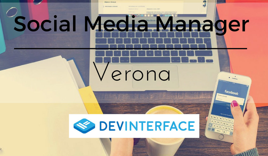 Social Media Manager – Verona – DevInterface