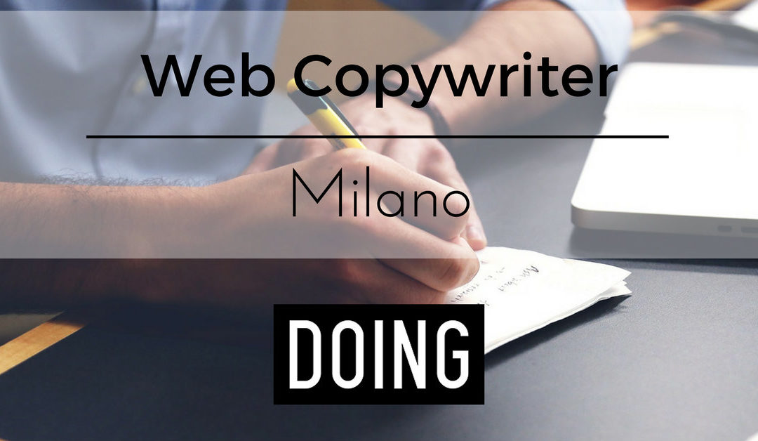 Web Copywriter – Milano – DOING