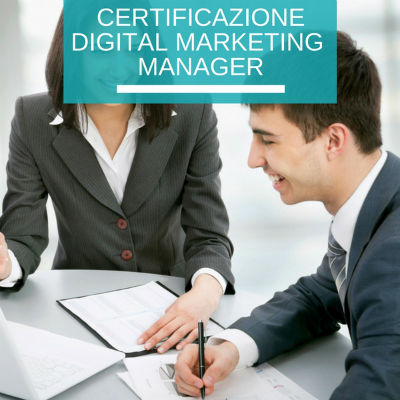 Certificazione Digital Marketing Manager