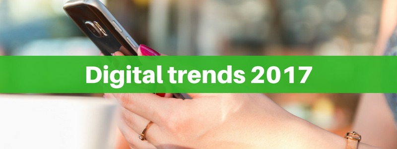 Digital trends 2017: cosa prevedono i professionisti del marketing digitale