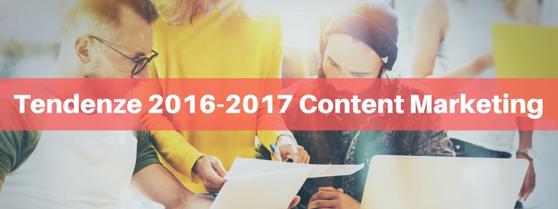 Tendenze 2016-2017 Content Marketing- intervista ad Alessio Beltrami
