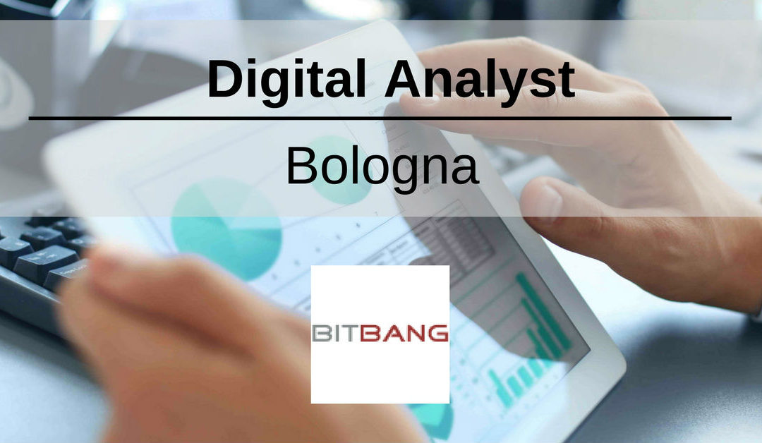 Digital Analyst – Bologna – BitBang