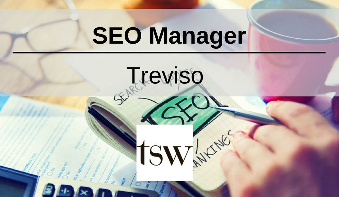 SEO Manager – Treviso – TSW