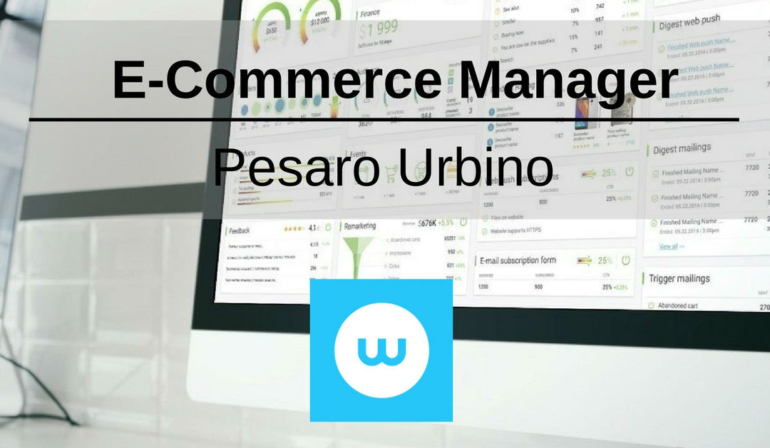 E-Commerce Manager – Pesaro Urbino – Websolute
