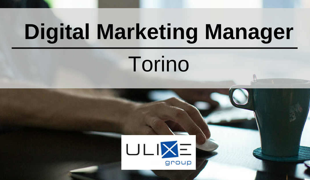 Digital Marketing Manager – Torino – Ulixe Group
