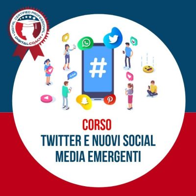 Corso Twitter marketing e Nuovi social media emergenti cover