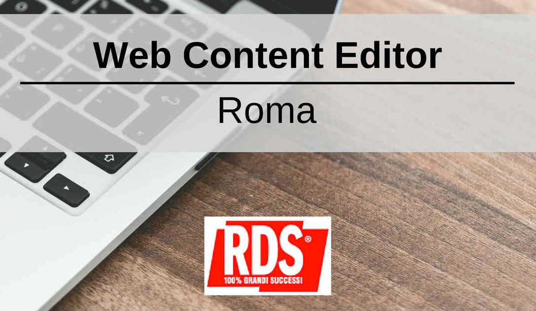 Web Content Editor – Roma – RDS