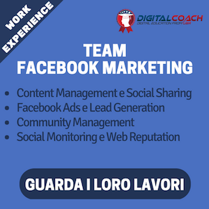 team facebook marketing