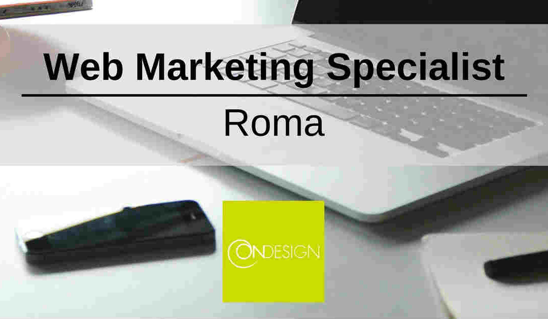 Web Marketing Specialist – Roma – ONdesign