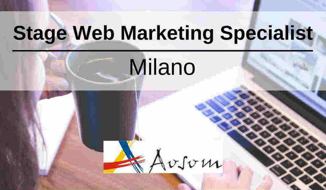 Stage Web Marketing Specialist – Milano – Aosom Italy