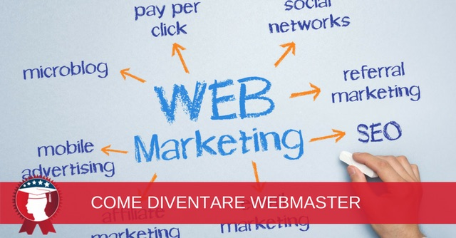 come diventare webmaster web marketing