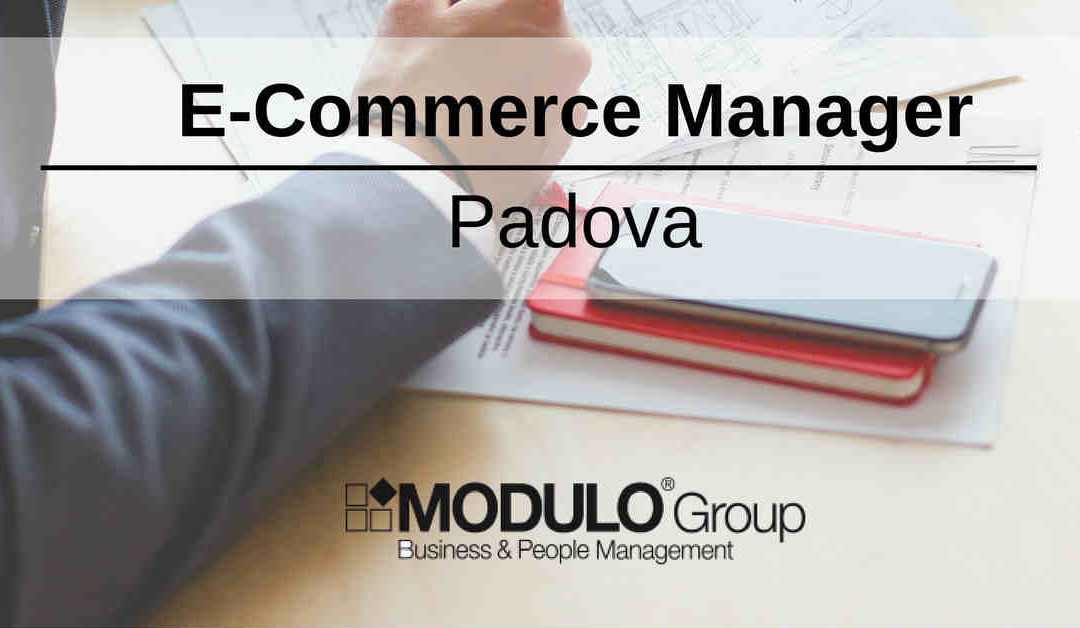 E-Commerce Manager – Padova – MODULO Group