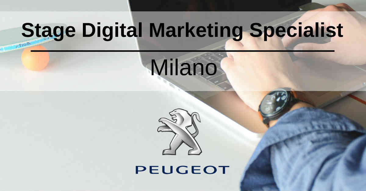 Stage Digital Marketing Specialist  Milano  Peugeot. Career Builder Resume Templates. Sample Resume Nursing Assistant. Resume Samples For Accountant. Reverse Chronological Order Resume Example. Geriatric Nurse Resume. What To Write In Skills Section Of Resume. Entry Level Investment Banking Resume. Sample Resume Free Download