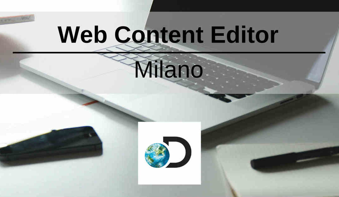 Web Content Editor – Milano – Discovery Networks Southern Europe