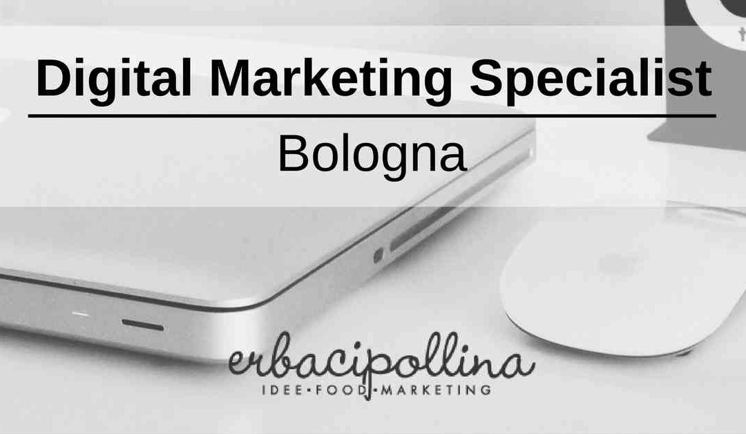 Digital Marketing Specialist – Bologna – Erbacipollina