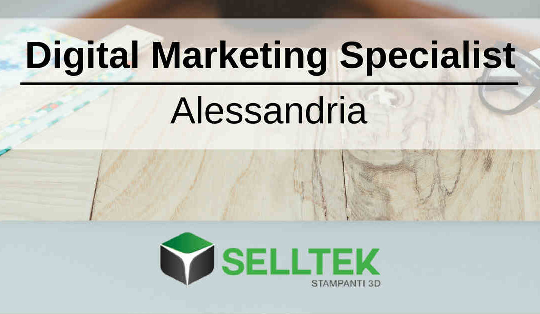 Digital Marketing Specialist – Alessandria – Selltek